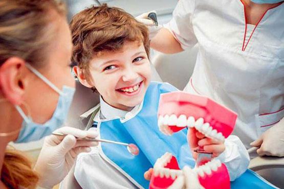 ارتودنسی برای اصلاح نامرتبی دندان کودکان