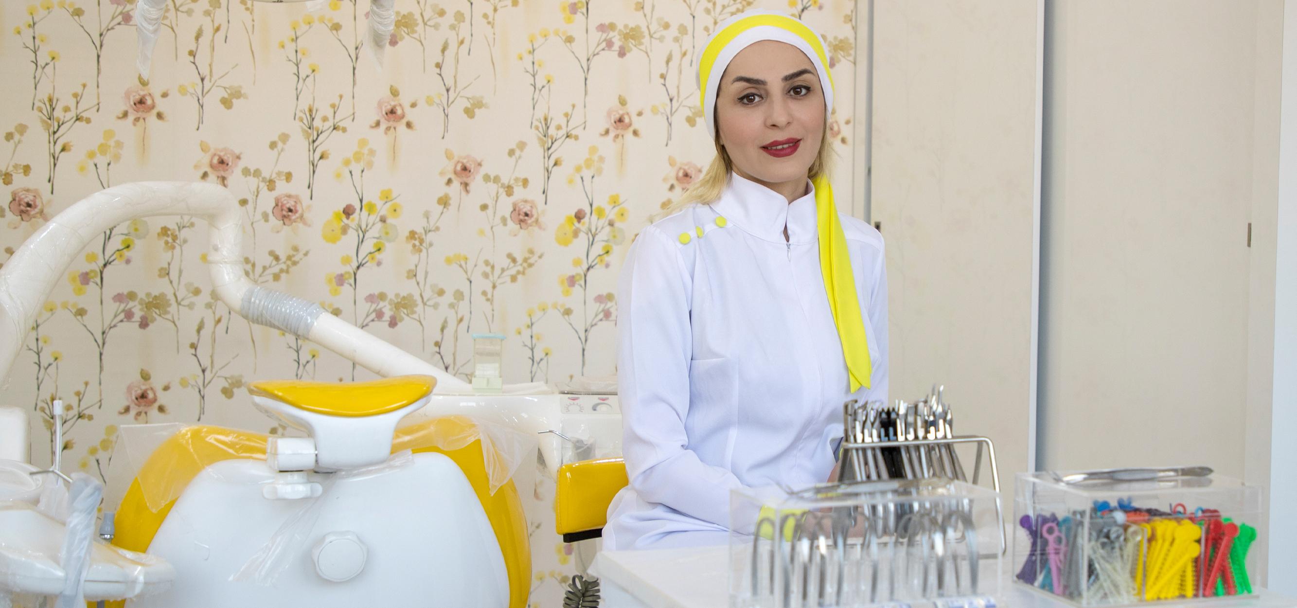 متخصص ارتودنسی اصفهان | فاطمه تیموری